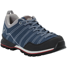 Jack Wolfskin Scrambler Low Schuhe Damen blue/black